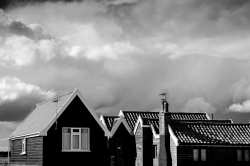 Dark Clouds above the Rooftops